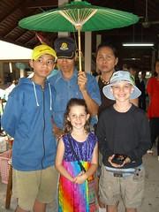 Tong Bai, Sumate, Balm, Caleb and Anna