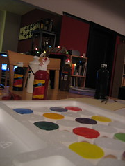 ... in progress (monsterpants) Tags: birthday party colour circles birthdayparty synaesthesia truecolours colourparty birthday2007 synaesthesiaparty