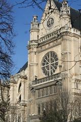 IMG_6436 (cathou_cathare) Tags: paris france church gargoyle rosace glise gargouille stainedglasswindows vitraux sainteustache