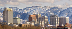Salt Lake City Panorama (LeggNet) Tags: city winter panorama mountains skyline utah panoramic saltlakecity slc leggnet legg leggnetcom richlegg richlegg wwwleggnetcom