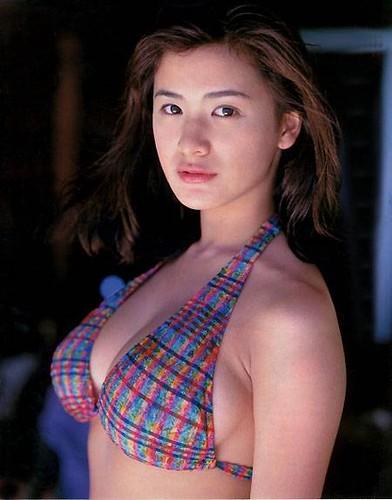 Yuko Aoki Wearing Cute Bikini