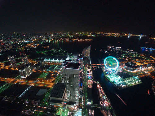 view from a LANDMARK TOWER YOKOHAMA 4