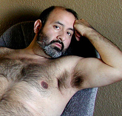 Evening28 (dannybehr) Tags: bear hairy man pits armpits maleunderamrs