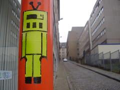 Spencer, Brussels (spencer0) Tags: street brussels urban streetart stencils art up robot stencil belgium belgique belgie stickers bruxelles spencer brussel pochoir pochoirs bxl