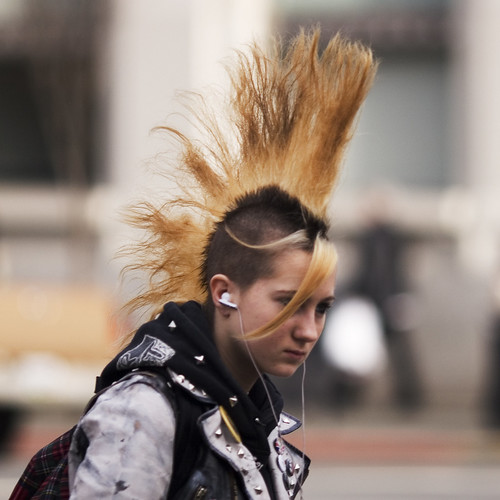 Punk Mohawk Hairstyles