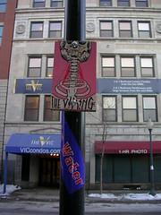 I Quit (view large) (SKIRT CHASER ONER) Tags: streetart chicago board omg lizards thevikingviking