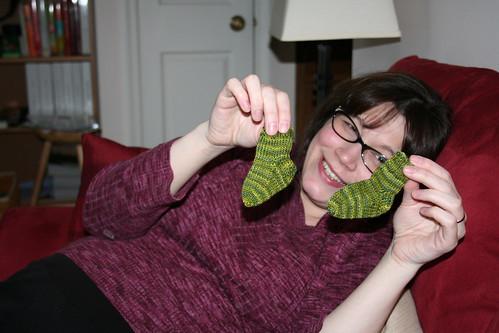 Tiny socks!