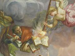 Fresco inside the Karlskirche