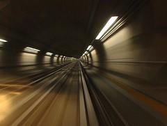 Sono fuori dal tunnel le le le le (Stranju) Tags: torino bravo italia metro piemonte turin velocità prospettiva aclass beautyisintheeyeofthebeholder mywinner stranju aplusphoto fuoridaltunnel blueribbonphoto dentroiltunnel