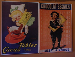 Chocolate Signs in Bromont, Quebec