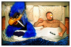 Claude VonStroke - In Bed With A Dirty Bird (merkley???) Tags: sanfrancisco portrait music photoshop portraits magazine saturated artist dj egg portraiture artists saturation eggs electro electronica safe bluebird retouched barclay dirtybird mixmag claudevonstroke dirtybirdrecords musicish