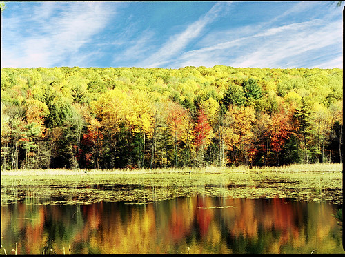 Reflections - Indian Summer in New England
