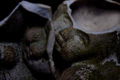Shattered (Jon. Ellis) Tags: japan faces buddha shattered cracked   mmblog
