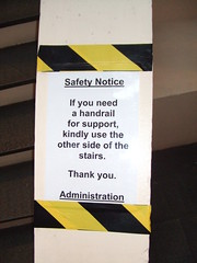 Funny sign at work