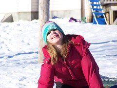 Erin, ready to slide