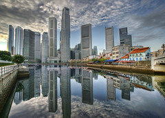 Reflections of CBD (DanielKHC) Tags: sky skyline architecture clouds reflections river bravo singapore day cloudy sony cbd alpha soe hdr buldings boatquay a100 excellence lucisart yougotit photomatix splendiferous supershot plus4 tonemapped instantfave 1500v60f 5xp outstandingshots tamron1118mm abigfave 123f50 plus4excellence colorphotoaward danielcheong hdrenfrancais 200750plusfaves superbmasterpiece diamondclassphotographer flickrdiamond invitedphotosonlyplus4 danielkhc ultimateskyscrapershots