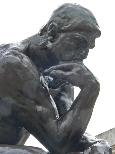 "Rodin's ""The Thinker"" as photgraphed by mharrsch on flickr.com"