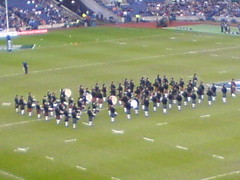 Pipes and Drums at Murray Field