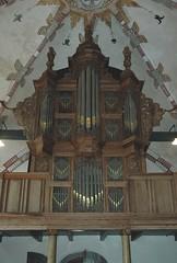 Godlinze, Groningen, organ, faade (groenling) Tags: carving organ violin groningen harp faade orgel schnitger viool godlinze onderpositief