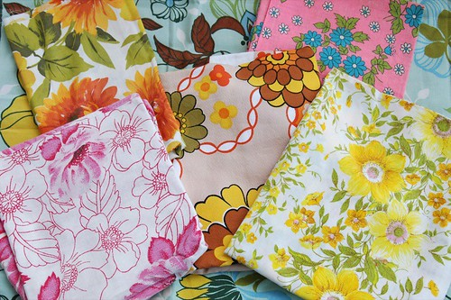 vintage fabric from aunty cookie