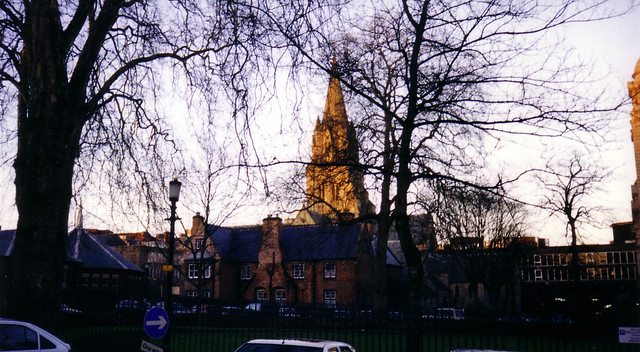 A view of the Cathedral Church of the Diocese of Nottingham.