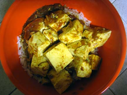 Tofu and Rice