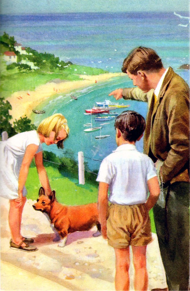 Vintage Ladybird Books 'Happy Holiday' (Peter and Jane)