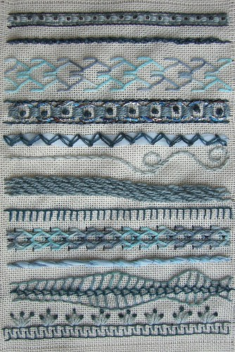 Peronal Library of Stitches - sampler 1