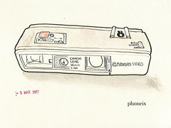 110camera//phoneix (.ks.1.) Tags: ks ks1 dummy associate illustration drawing moleskine sketch watercolor pencil pen ink series whatdoyouthink dream nightmare phoneix camera 110camera canon