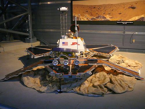 Mars Sojourner Rover Model