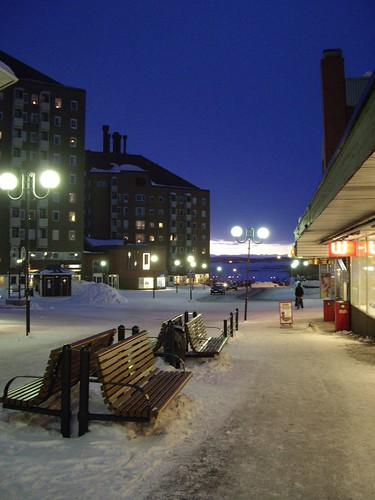 Downtown of Kiruna