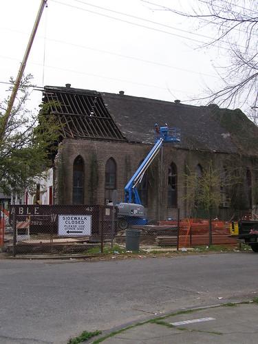 Valance Street Church deconstruction