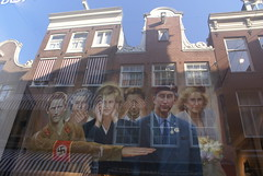 Prince Harry in Amsterdam (Shiratski) Tags: art sorry amsterdam painting artgallery nazi hitler swastika princeharry centrum controversy siegheil naziparty grachtenpand apologising costumecontroversy colonialandnative