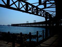 Hoje... (Silvestre Raposo) Tags: muelle mar spain huelva