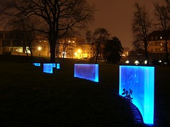 Blau macht glücklich, oder so! (mesiplusminusmesi) Tags: blue light home germany licht dresden saxony synagoge blau dd atnight heimat