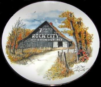 See Rock City plate