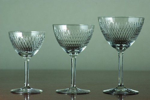Old Baccarat, PARIS hand cut, 1940-1950