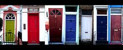 doors (I'm a cult hero) Tags: london buildings catchycolors doors londra