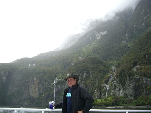 Pat, Squage and Milford Sound
