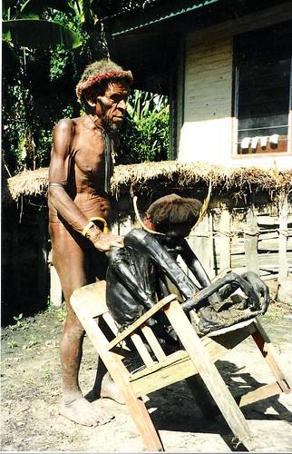 Warrior Mummy in Irian Jaya