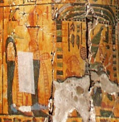 OAM52976-LOR-1-Genii before throning Osiris in shrine (CESRAS) Tags: symbol egypt odessa tip genius coffin daimon deity dynasty osiris thebes bce d21 throning canide 21a theban horemachet cesras 1070945