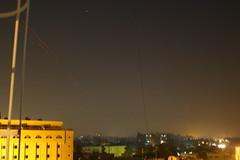 Celebratory gunfire over Baghdad (TwoCrabs) Tags: football fireworks soccer iraq baghdad gunfire asiangames celebratory