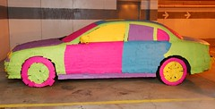 The Post-It Note Jaguar (covered with sticky notes) (Scott Ableman) Tags: topf25 car topv111 topv2222 topv555 topv333 automobile colorful parkinggarage topv1111 topv999 postit explore topv5555 photodomino bumper fender prank dcist blogged topv777 jaguar bling psychedelic postits topv9999 topv11111 topv3333 topv4444 postitnotes practicaljoke interestingness9 stickynotes postitnote topv8888 topv6666 topv7777 officeprank stype interestingness10 interestingness6 interestingness14 interestingness194 explored interestingness176 i500 explore15dec06 photodomino386 bodypanel photodominop2