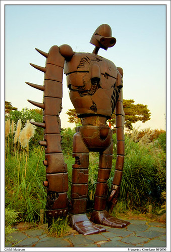 Giant Laputa Robot at Ghibli Museum