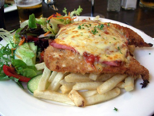 Chicken Parmigiana - Bull and Bear Tavern