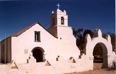 Church, Atacama desert