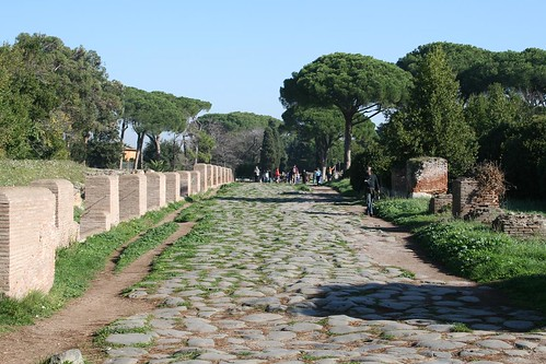 Entrance Road - yup, it's Roman.