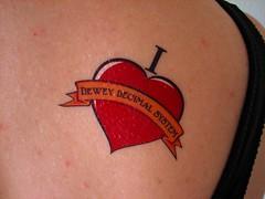 I Heart Dewey Decimal System