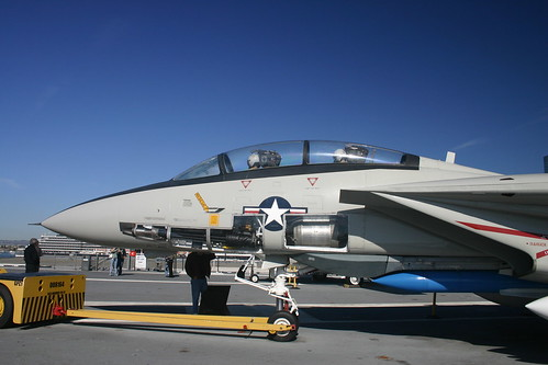 F-14 Tomcat aboard the USS Midway (CV-41)