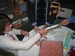 Swedish sausage making